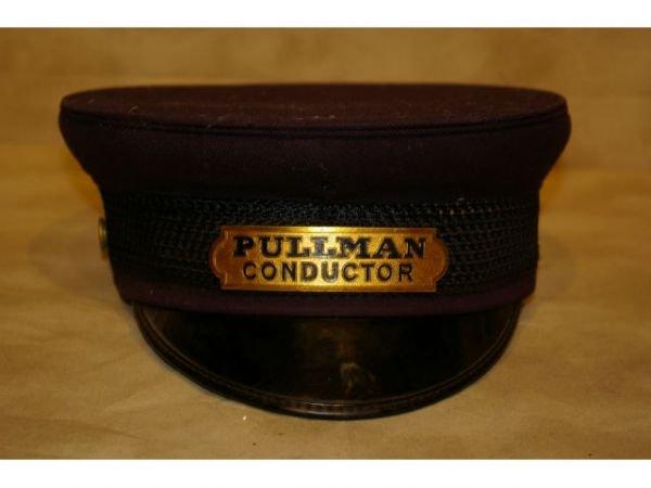 369E: Railroad Pullman Conductor Hat And Porter Hat