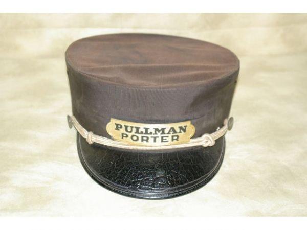 369E: Railroad Pullman Conductor Hat And Porter Hat     - 2