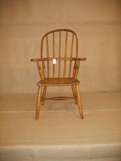 421A: Early Windsor Armchair. English.