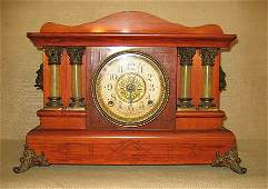 615 Clock Seth Thomas Mantle Clock Late Victorian