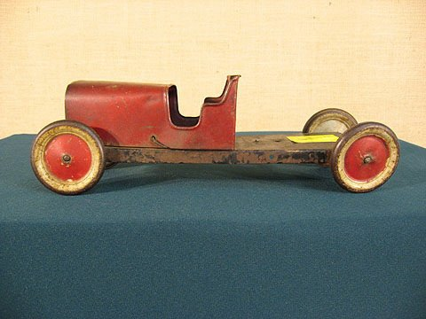 6: Flat bed racer, Structo. Original paint / wheels.
