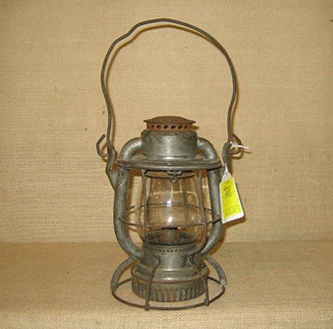 920: Railroad lantern. P & L E RR, New  York