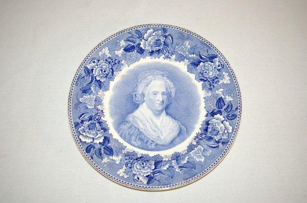 101: Wedgwood China George Washington Plate Set 1932 - 2