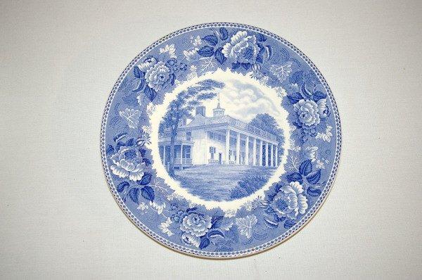 101: Wedgwood China George Washington Plate Set 1932 - 4