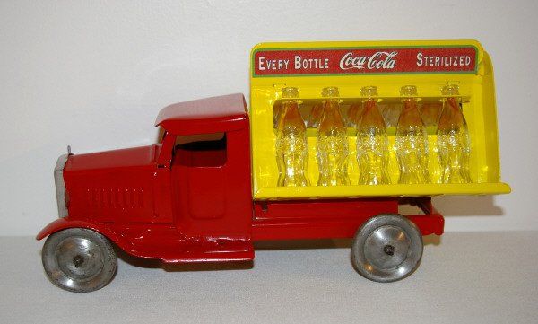 404: Metalcraft Pressed Steel Toy Coke Delivery Truck