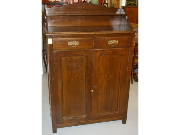 607a Jahn Furniture Signed Texas Jelly Cupboard