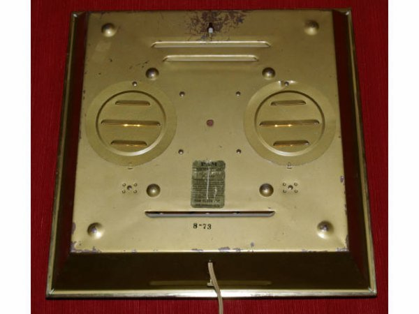 11: Vintage Grapette Soda Advertising PAM Clock  - 3