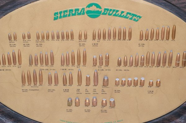14: Sierra Bullet Board Ammo Advertising Sign - 2