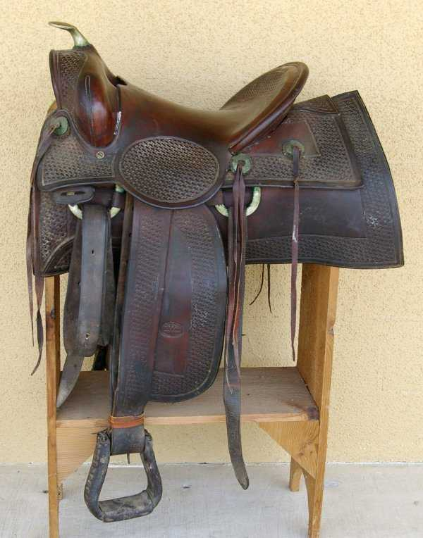 119 King Ranch Saddle Vintage Authentic