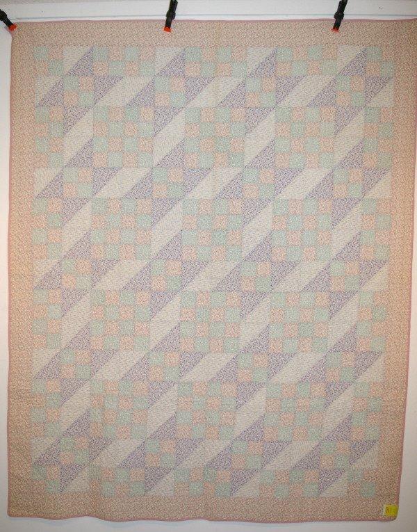 504: Hand Stitched Summer Quilt