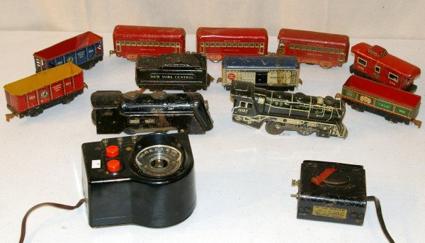 537: Marx Toy Train Set
