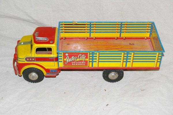 3: MARX Toys Pressed Tin Truck