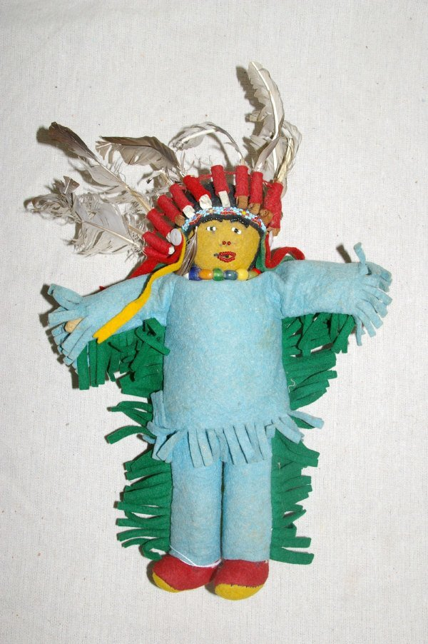 8: Native American Indian Doll