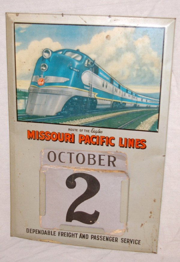 14: Missouri Pacific Railroad Advertising Calendar