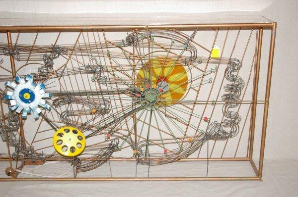 111: Large Magic Marble Kinetic Sculpture Stan Bennett - 2