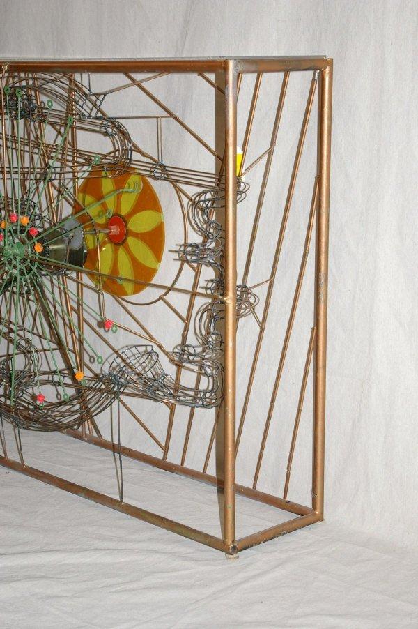 111: Large Magic Marble Kinetic Sculpture Stan Bennett - 5