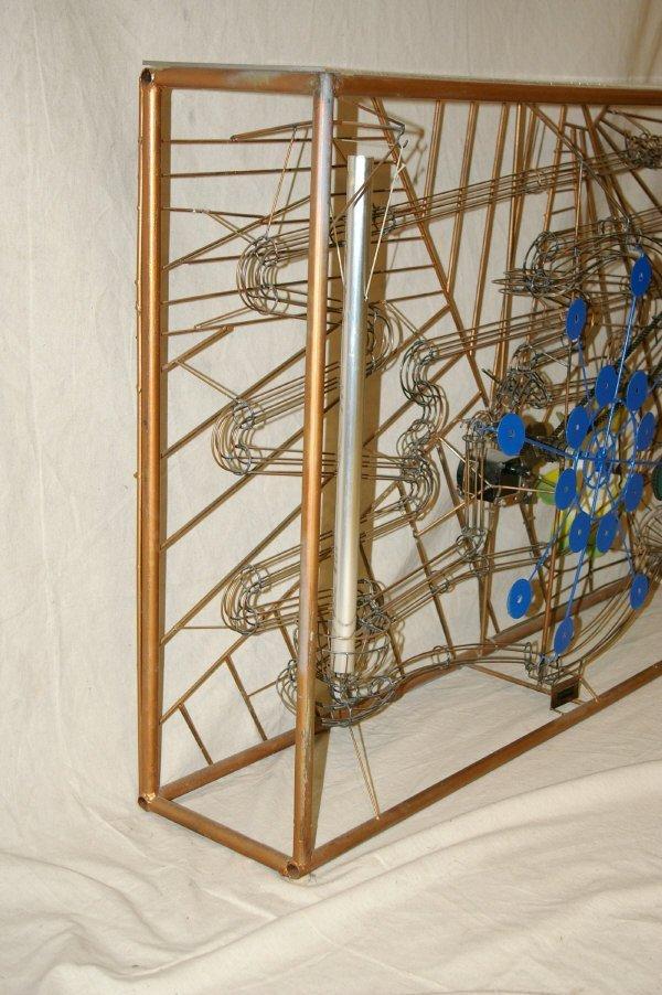 111: Large Magic Marble Kinetic Sculpture Stan Bennett - 6