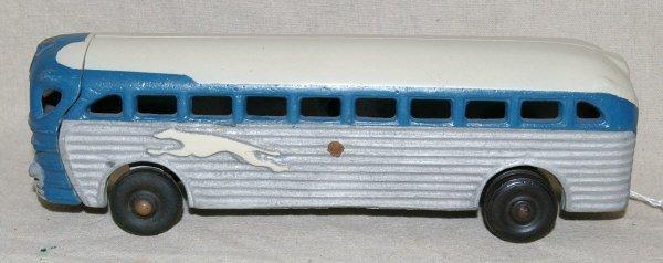 506: Greyhound Bus Cast Iron Toy