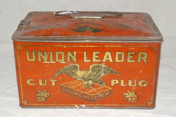 517: Union Leader Tobacco Tin