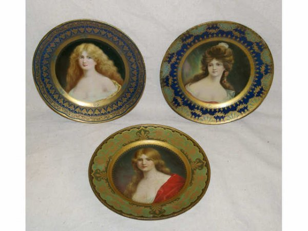 519: Lot Of 3 Advertising Plates