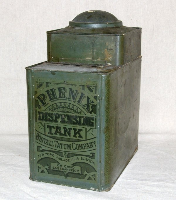 520: Phenix Country Store Counter Top Tin