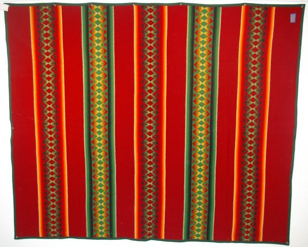 523: Pendelton Wool Indian Blanket Beaver State