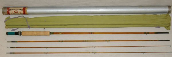 1015: Montague-Fishkill 8ft Fly Rod In Original Case