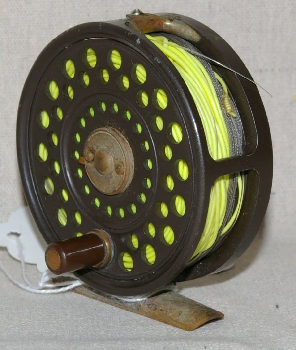 1017: Hardy Bros Featherweight Fly Fishing Reel