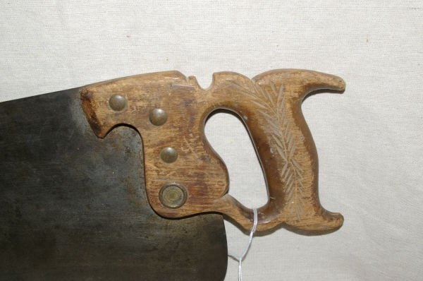 1053: Vintage Winchester Tools No 16 Hand Saw - 5