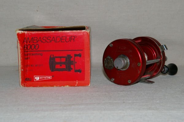 1066: Abu Ambassadeur 6000 Record Fishing Reel