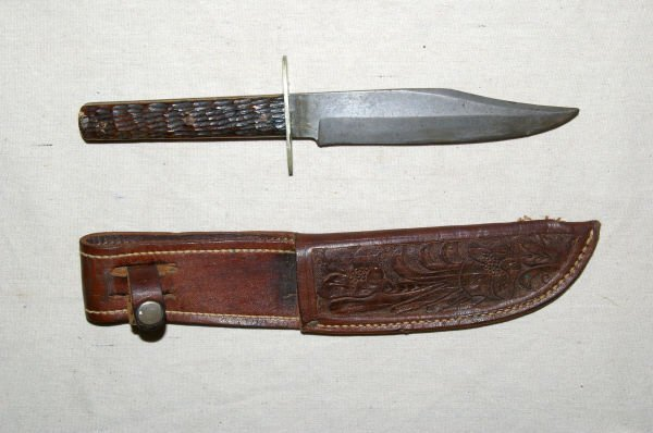 1142: Wade & Butcher Bowie Knife Sheffield England