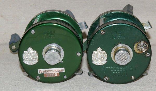 1288: Pair Of ABU Ambassadeur 5000D and 5500D Reels. - 3