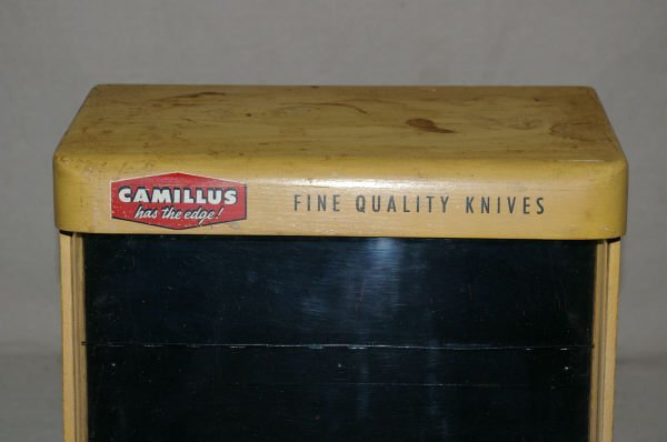 1342: Camillus Table Top Knife Display Case - 2