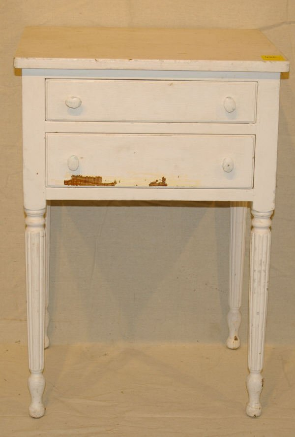 1606: Stickley Signed Nightstand