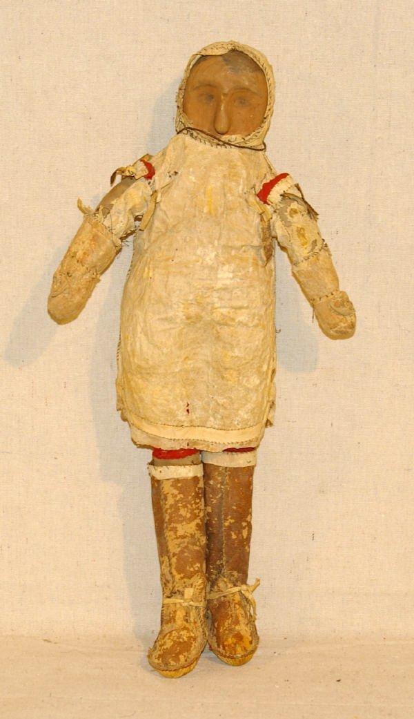 5: Native American Inuit Eskimo Doll