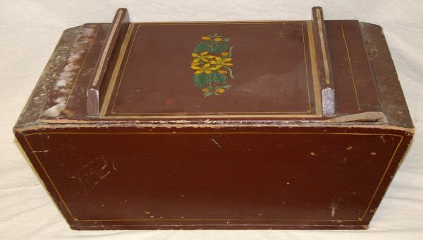 17: Pennsylvannia Stencilled Dough Box