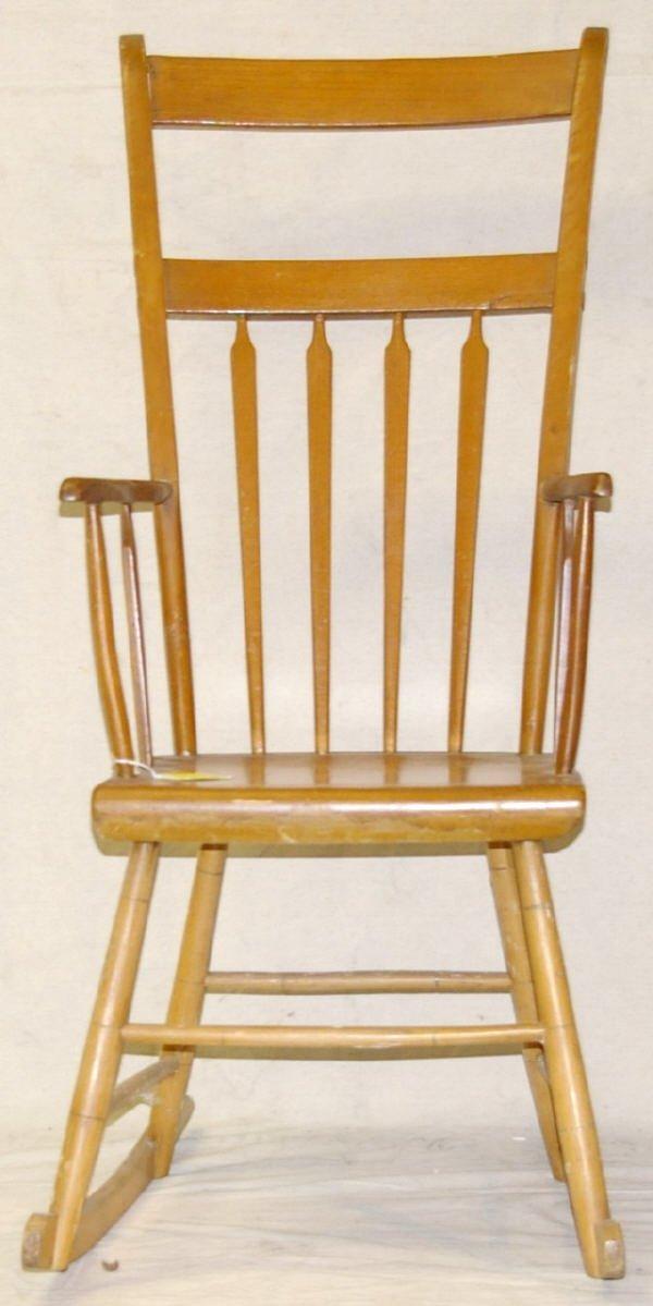 19: American Arrow Back Windsor Rocking Chair