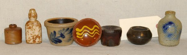 324: Collection Of 7 Stoneware Pieces