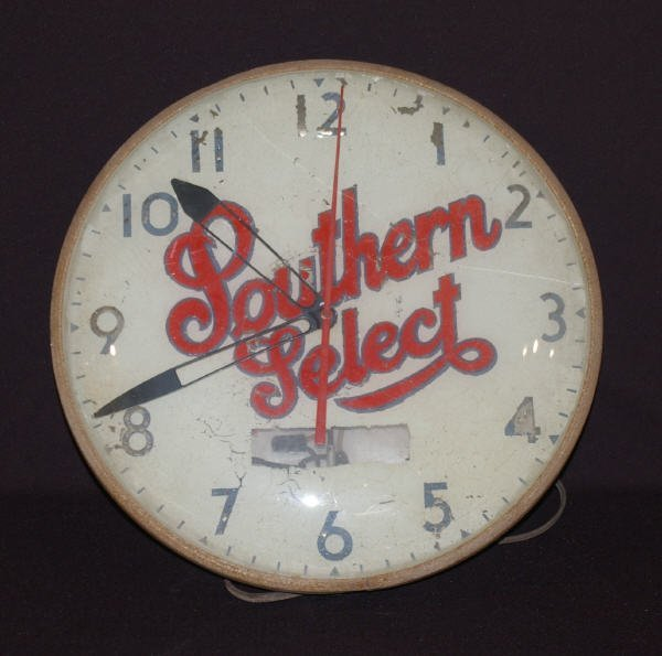 1001: Southern Select Beer Advertising Clock