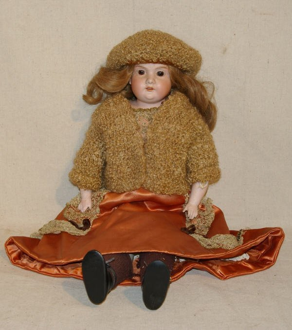 1013: Armand Marseille Germany Bisque Doll A3M