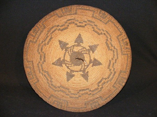 1034: Figural Apache Indian Basket