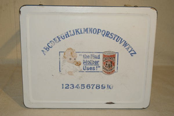 1080: Calumet Baking Powder Advertising Childs Table - 3