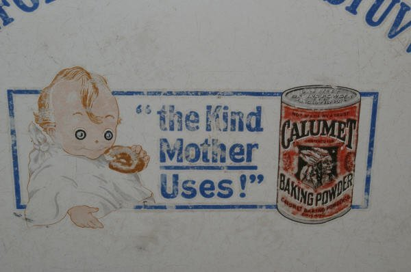 1080: Calumet Baking Powder Advertising Childs Table - 4