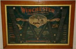 1139: 1897 Winchester Double W Bullet Board