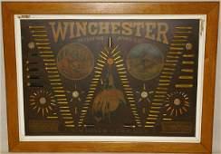 1216: 1895 Winchester Single W Bullet Board