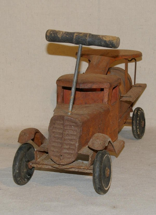 1508: Vintage Toy Riding Truck