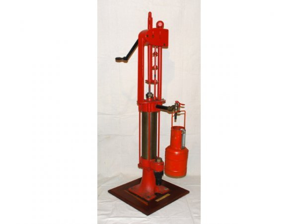 10: Vintage Bowser Oil Pump