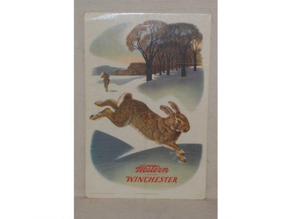29: 1955 Winchester Gun Advertising Poster