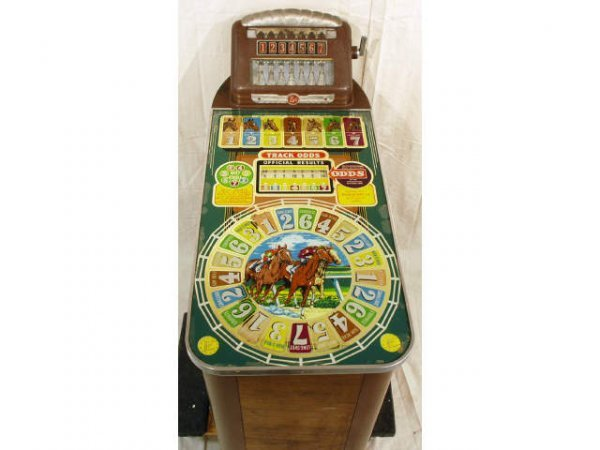 35: Buckley Coin-Op Horse Racing Slot Machine Man O War