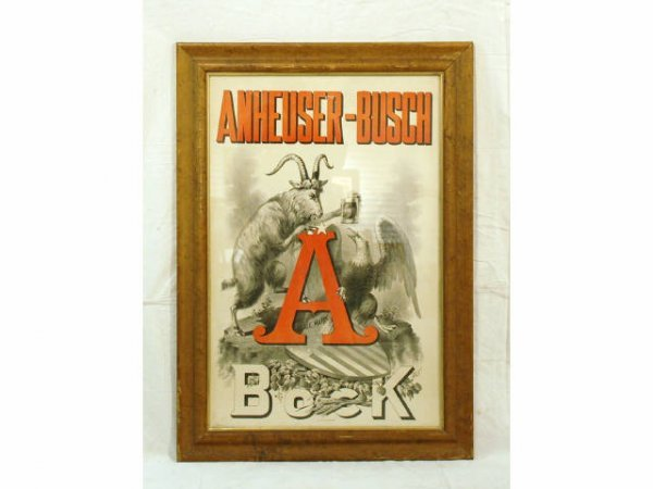 53: Pre-Pro Anheuser-Busch Beer Advertising Poster